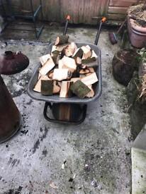 Cheap split logs for sale
