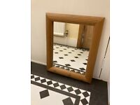 Wood Framed Mirror - EXCELLENT CONDITION!