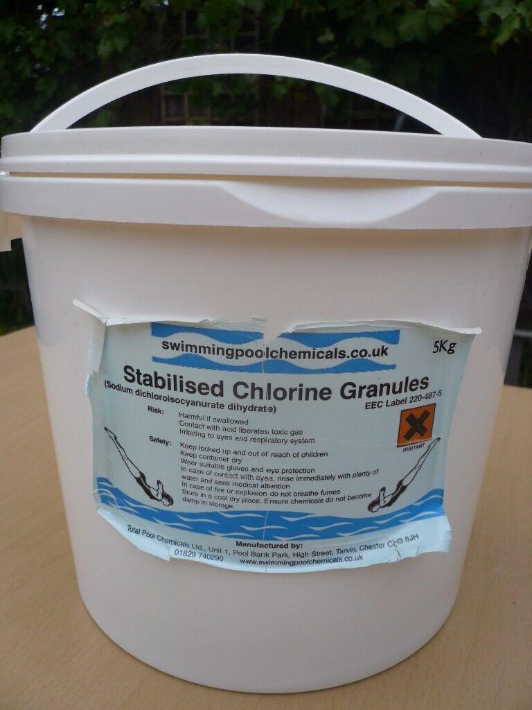 Swimming Pool Chemicals Chlorine Granules In Hull East Yorkshire Gumtree
