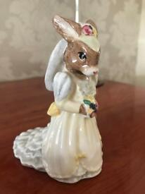 bridal bunnykins