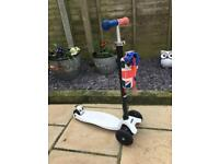 Limited addition Union Jack micro maxi scooter