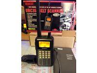 Uniden Bearcat UBC3500XLT handheld VHF /UHF scanner
