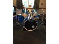 Mapex QR series Drum kit!!
