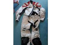 Heingerrick matching leathers trouser and jacket