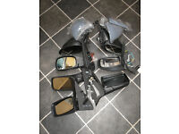 Job lot of car door mirrors in excellent condition Ford Peugeot Vauxhall FIAT