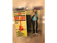Jon Bon Jovi Musical figure 2007 Mcfarlane Toys NEW LIMITED EDITION