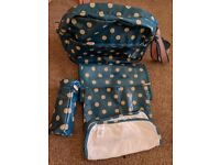 Cath kidston blue spotty changing bag