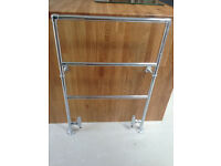 Bathroom heated towel rail