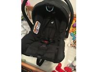 Car seat used for 15 minutes