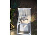 stainless kitchin sink