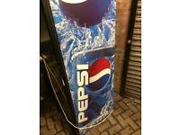 large pepsi bottle fridge