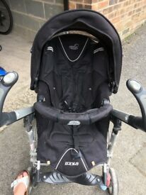Black Loola Pushchair