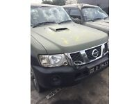 Nissan Patrol for breaking ZD30 Engines All parts available.
