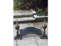 Cast Iron Fire Grate - Collection Only