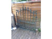 Very well built galvanised steel garden gate £50 £375 when new