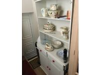 White small welsh dresser from smoke free home