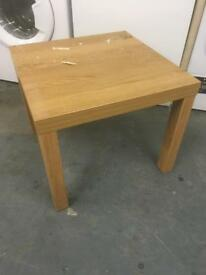 Wooden side table