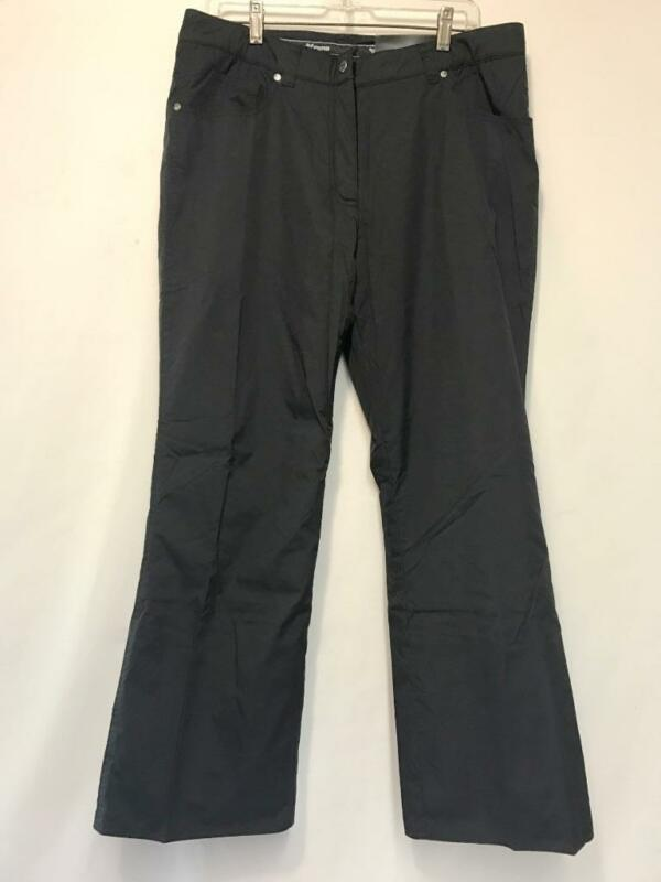 Fera Britney Women's Snow Ski Pants Insulated Black 14 NEW