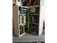 Vintage 1980s Book Shelves