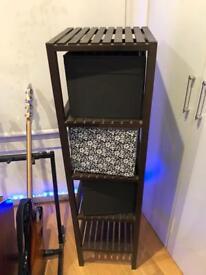 Ikea Shelf with Drawers