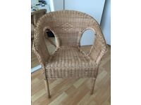 Ikea AGEN Chair Rattan/bamboo - price cut