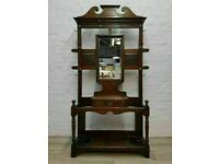 Antique Hall Stand (DELIVERY AVAILABLE FOR THIS ITEM OF FURNITURE)
