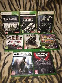 Xbox game one & 360