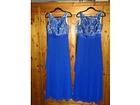 2x Bridesmaid / Prom Dresses Size 8-10 and 10-12