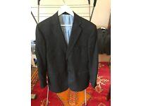Vintage Bespoke Hand Made Mccann Jacket, £450 New, WORN A HANDFUL OF TIMES, Velvet Lining