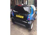 Smart car 600cc semi auto 80k long mot £20 tax
