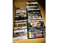 Box of 100 DVD's