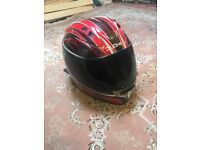 2 Stylish motorcycle helmets for sale!