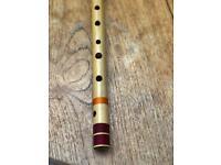 Bansuri flute G bass, bamboo Indian flute