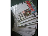10 unopened Ride motorbike magazines