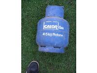 4.5 CALOR GAS BUTANE BOTTLE with regulater