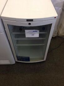 Reconditioned glass fronted fridge