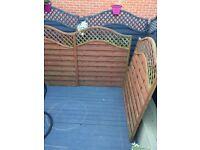 3 Grafton Omega Fence Panels