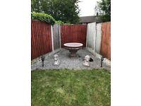 Garden fountain resin not stone £40