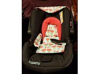 Flamingo Cosatto pushchair & baby car seat set