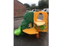 Little tikes jungle climber, climbing frame/slide. Used but with plenty of use still left in it.