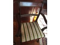 Dining table plus 6chairs in perfect condition ,table can be extanded