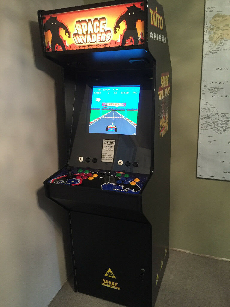 Tremendous Arcade Machine Space Invaders Theme 85 Games Excellent Condition In Nottingham Nottinghamshire Gumtree Download Free Architecture Designs Remcamadebymaigaardcom