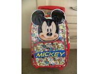 MICKEY MOUSE DISNEY CABIN CASE BRAND NEW WITH TAGS