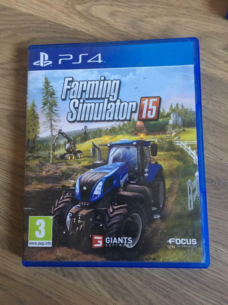 PS4 game farming simulator 15 | in Leicester, Leicestershire | Gumtree