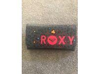 ROXY LEOPARD PRINT NEON PURSE