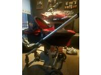 Icandy cherry carry cot pram and stroller