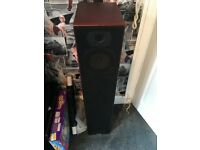 BENG V9B 4 PIECE HOME THEATRE FLOOR STANDING TOWER SPEAKERS 1240W WITH COVERS