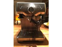 Sage Duo Temp Pro Espresso Machine BES810 BSS * Silver