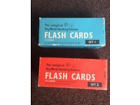 Retro 'Ladybird' Flash Cards - great for display, art or graphics projects