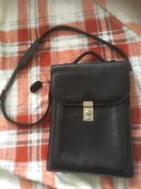 Proudfoot 100% leather satchel